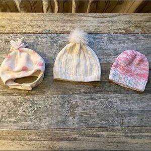 Toddler Winter Hat Bundle. Very Good Condition!